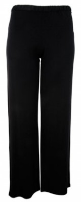 Calvin Klein Women's Essentials with Satin Trim PJ Pant - Black