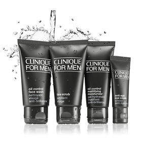 Clinique for Men Essentials Kit for Oily Skin - Clinique Gifts