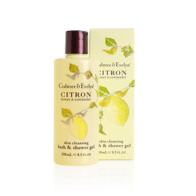 Crabtree & Evelyn Citron, Honey & Coriander Skin Cleansing Bath &