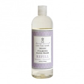 Deep Steep Lavender - Chamomile Organic Foaming Hand Wash Refill 474ml