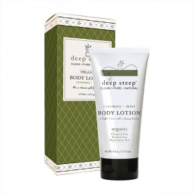 Deep Steep Rosemary - Mint Organic Body Lotion 177ml