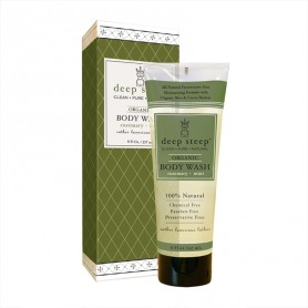 Deep Steep Rosemary - Mint Organic Body Wash 237ml