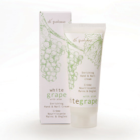 Di Palomo White Grape & Aloe Enriching Hand & Nail Cream 75ml