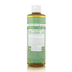 Dr Bronner's 18 in 1 Hemp Green Tea Pure Castile Liquid Soap 473ml - Green Tea Gifts