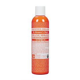 Dr Bronner's Organic Citrus Hair Conditioner Rinse 236ml