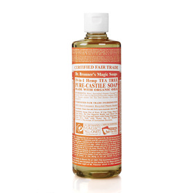 Dr Bronner's Organic Tea Tree Castile Liquid Soap 472ml