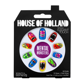 Elegant Touch Henry Holland Halloween Nails Mental Monsters