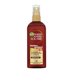 Garnier Ambre Solaire Golden Protect Protective Oil Spray - Medium SPF
