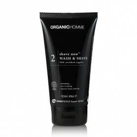 Green People Organic Homme 2 Shave Now Wash & Shave 125ml