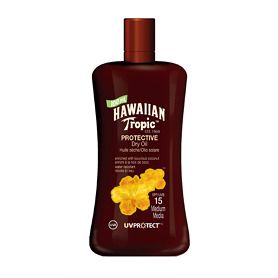 Hawaiian Tropic Protective Dry Oil SPF 15 100ml -
