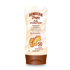 Hawaiian Tropic Silk Hydration Protective Sun Lotion SPF 50 180ml - Hawaiian Gifts