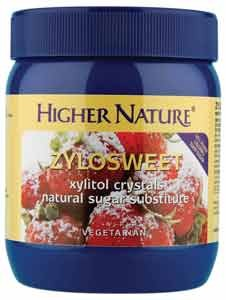 Higher Nature ZyloSweet Xylitol Crystals Natural Sugar Substitute