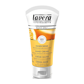 Lavera Body Spa Organic Orange & Sea Buckthorn Hand Cream 50ml
