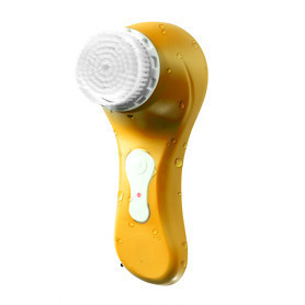 Magnitone Lucid Daily Facial Cleansing & Exfoliation Brush - Sunshine Yellow - Sunshine Gifts