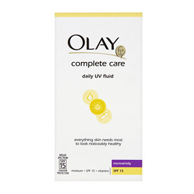 Olay Complete Care Day UV Fluid SPF15 - Normal/Oily 100ml