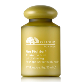 Origins for Men Fire Fighter To Take The Burn Out Of Shaving 50ml