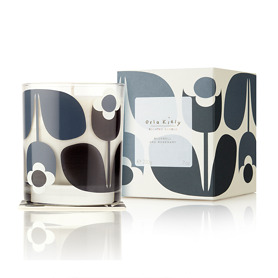 Orla Kiely Bluebell and Rosemary Scented Candle 200g