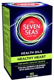 Seven Seas Health Oils Healthy Heart 30 One-a-day Capsules - Heart Gifts