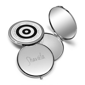 Shavata Fashion Targets Breast Cancer Compact Mirror - Mirror Gifts