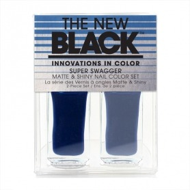 THE NEW BLACK Super Swagger Matte & Shiny Nail Colour Duo 2 x 3.6ml - Shiny Gifts