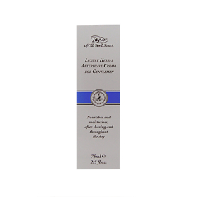 Taylor of Old Bond Street Herbal Aftershave Cream for Gentlemen 75ml - Aftershave Gifts