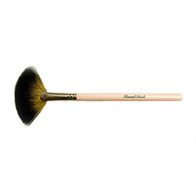 The Vintage Cosmetic Company Fantail Blush Brush - Pink - Pink Gifts