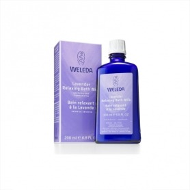 Weleda Lavender Relaxing Bath Milk 200ml - Relaxing Gifts