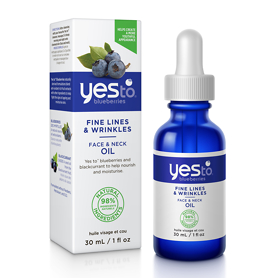 Yes To Blueberries Face & Neck Oil 30ml