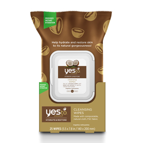 Yes To Coconut Cleansing Wipes x25
