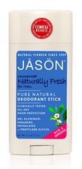 JASON Unscented Naturally Fresh Pure Natural Deodorant Stick for Men
