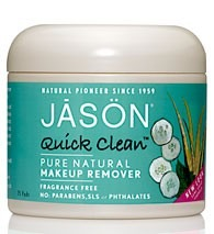 JASON Quick Clean Pure Natural Makeup Remover Pads x75 - Makeup Gifts