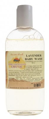 Emu Oil Well Lavender Baby Wash 250ml