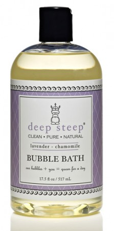 Deep Steep Lavender - Chamomile Organic Bubble Bath 517ml