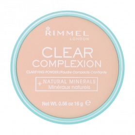 Rimmel Clear Complexion Powder gives a pure and shine-free