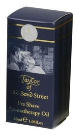 Taylor of Old Bond Street Pre Shave Travel Aromatherapy Oil 30ml